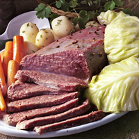 Corned Beef and Cabbage Jigsaw Puzzle