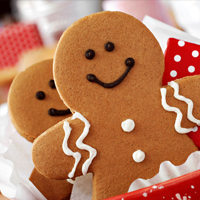 Gingerbread Cookie Jigsaw Puzzle