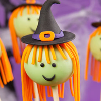 Witch Cake Pops Jigsaw Puzzle