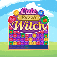 Cute Puzzle Witch
